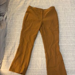 Brown ankle pants